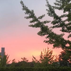 夕陽と雲と・・・パワーアップ!!!