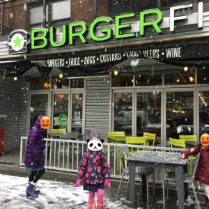 アレルギー対応、子連れ歓迎バーガー店Burger FI @ アッパーイースト