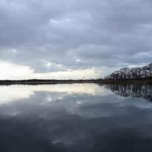 水平らか…ウトナイ湖