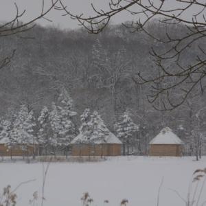 白の情景…雪のコタン