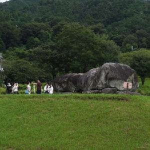 圧倒された石舞台古墳