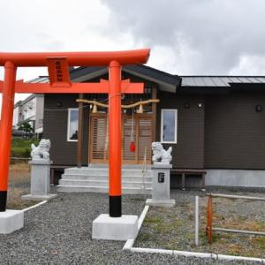 寅さんが来た神社…虎杖浜神社