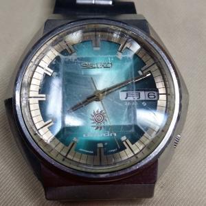 昔の腕時計ガラス交換