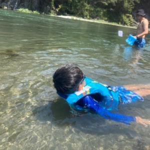水で遊ぶ❤️