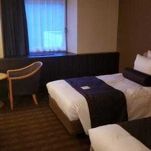 [四国・山陽旅行]JCBザ・クラスのプレミアムステイプランで予約したANAクラウンプラザホテル松山に宿泊♪