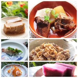 プチお洒落なお正月料理~今話題の菊芋ご飯や骨ごといただけるぶり大根料亭仕立て、紫芋とユリ根の羊羹