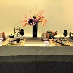 札幌にてテーブルコーディネート講座開催しました