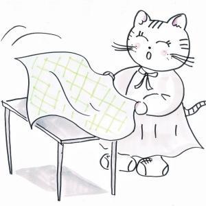 かんたんテーブルコーディネートレッスン☆トラ美先生⑩「テーブルクロス」