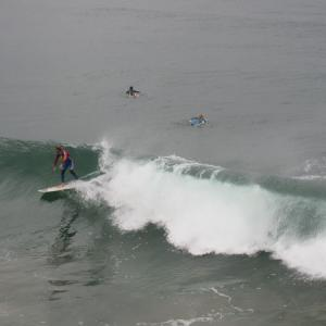 雨 ハモサビーチ 2