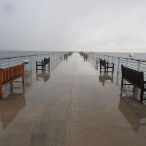 雨 ハモサビーチ 3