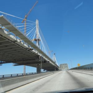 まもなく完成の橋
