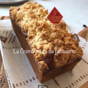 ケーク ア ラ バナーヌ☆フランス菓子レッスンがありました♪