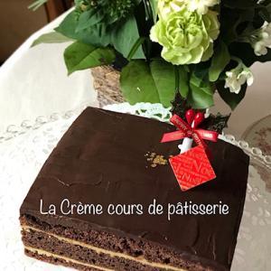 フランス菓子のレッスンはオペラを作りました♪