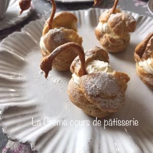 フランス菓子白鳥のシュー♪
