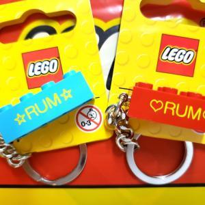 『LEGO』名入れキーリング♪