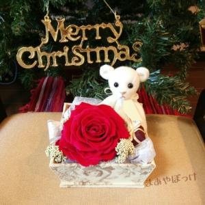 【minne】カルトナージュ体験から5年たつのか【クリスマスベアも販売中】