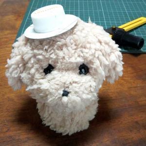 【minne】ペットボトルのフタで帽子の試作中【クリスマスベアも販売中】