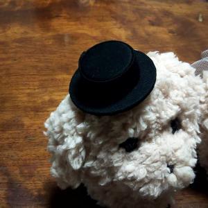 【minne】ペットボトルのフタで作る帽子完成【クリスマスベアも販売中】