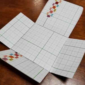 【minne】私物のものの型紙作り【文庫本カバーも名入れで】