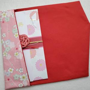 【TanoMake】淡いピンクの袱紗も出品しました