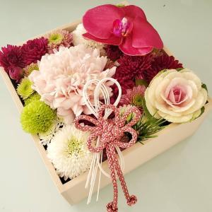 【minne】お正月用のお花、作ってきました【ぽち袋用の袱紗もあるよ】