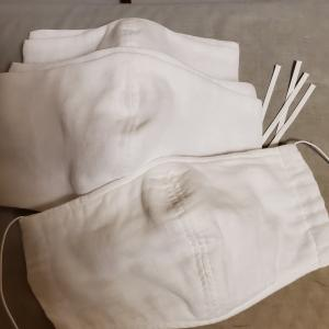 【minne】マスクは明日仕上げて赤いくまをスタートしたい【minneでぬいぐるみ販売中】