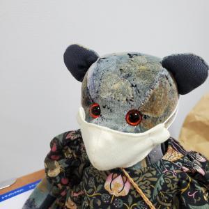 ぬいぐるみにマスクもしてみた【ぬいぐるみの服と小物】
