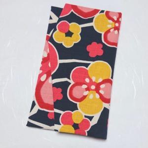 【minne】梅の花柄の袱紗、出品しました【名入れ】