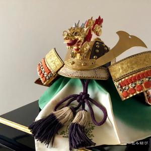〜90年前のお誂え「端午の節供の兜の飾り」〜