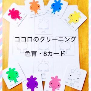 夏休み特別企画・色育8カードzoom体験