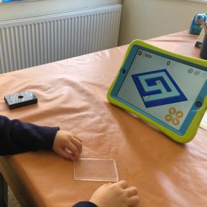 iPadと息子くん