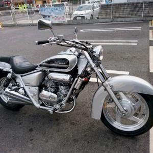 久しぶりのバイク