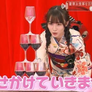 【そこさく】守屋麗奈ちゃんのテーブルクロス引き【お見事!】