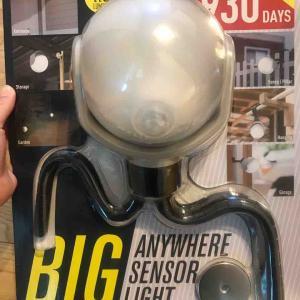 【コストコ購入品】LEDセンサーライト。電池式で便利!