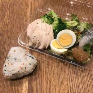 旦那のサラダ弁当♪ダイエットです!