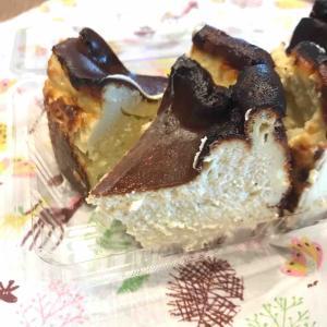 ゴルゴンゾーラのバスクチーズケーキ♪