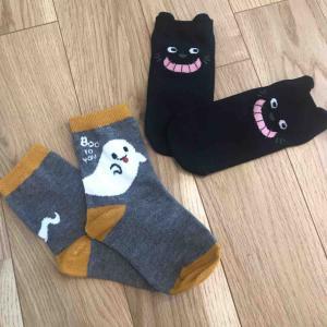 キャン★ドゥ購入品♬ハロウィンキッズ靴下がすっごく可愛い!