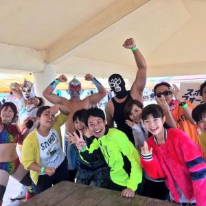 ママチャリ5時間耐久レース!漢那邦洋さんのスポーツフォーカルTEAMの一員としてTV出演、大会出場しました!