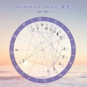 【星使いの時刻表】2021夏至~外からの断絶や変化を受けながらも内側の愛や喜びに忠実に