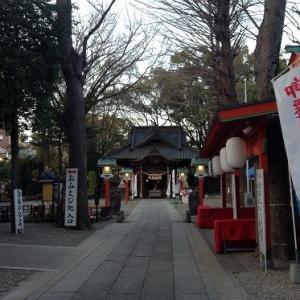 夕方の田無神社