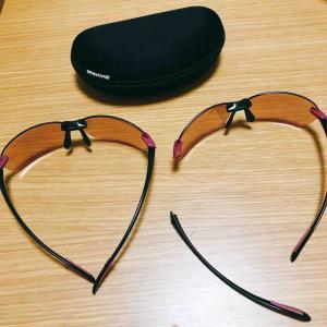 お腹がギュルギュル(*_*)壊れたサングラスが復活\(^o^)/