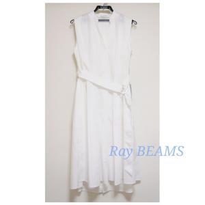 【セール購入品】Ray BEAMS♡白ワンピ
