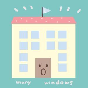 窓が20か所以上あるお家