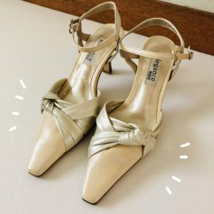 久しぶりに履いた靴が…