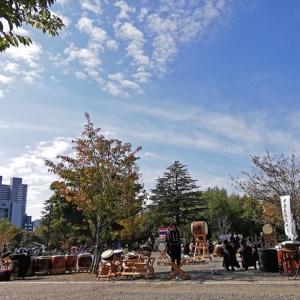 今年初演奏だったよ~♪ 静岡まつり・秋の陣 和太鼓演奏