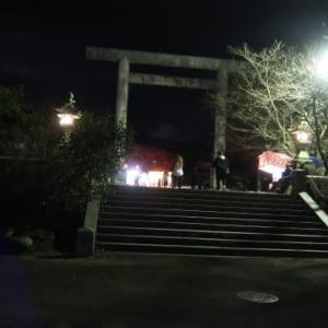 今日から西条まつり本番、伊曽乃神社の宮だしに午前0時に行ってみた (2019/10/15)