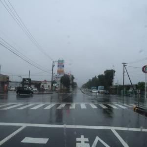 初めての「道の駅西山公園」は雨の中ではつまらない、いつものおおい町まで走ってきた (2020/9/18)