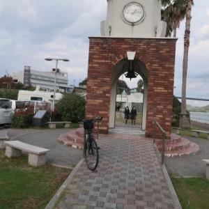 大三島橋を渡って伯方島を一周していたら、それほど走ってもいないのにヨレヨレになった (2020/11/10)