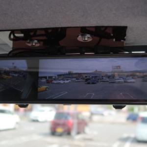新しい3カメラのドラレコ&電子ミラーはこんなふうに見えている (2021/6/17)