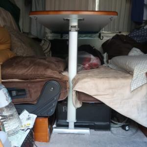 かなり貧弱だが、お座敷モードにした際のテーブルの脚を作成 (2021/7/31)